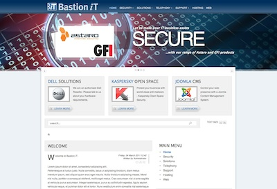 Bastion iT Homepage
